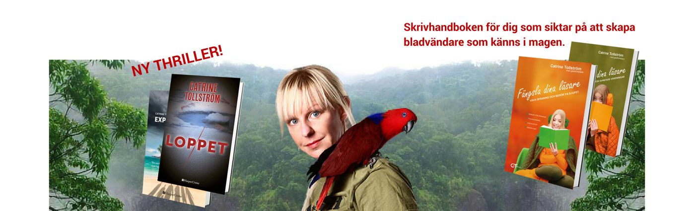 Catrine Tollström, författare