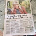 Catrine Tollström, Experimentet