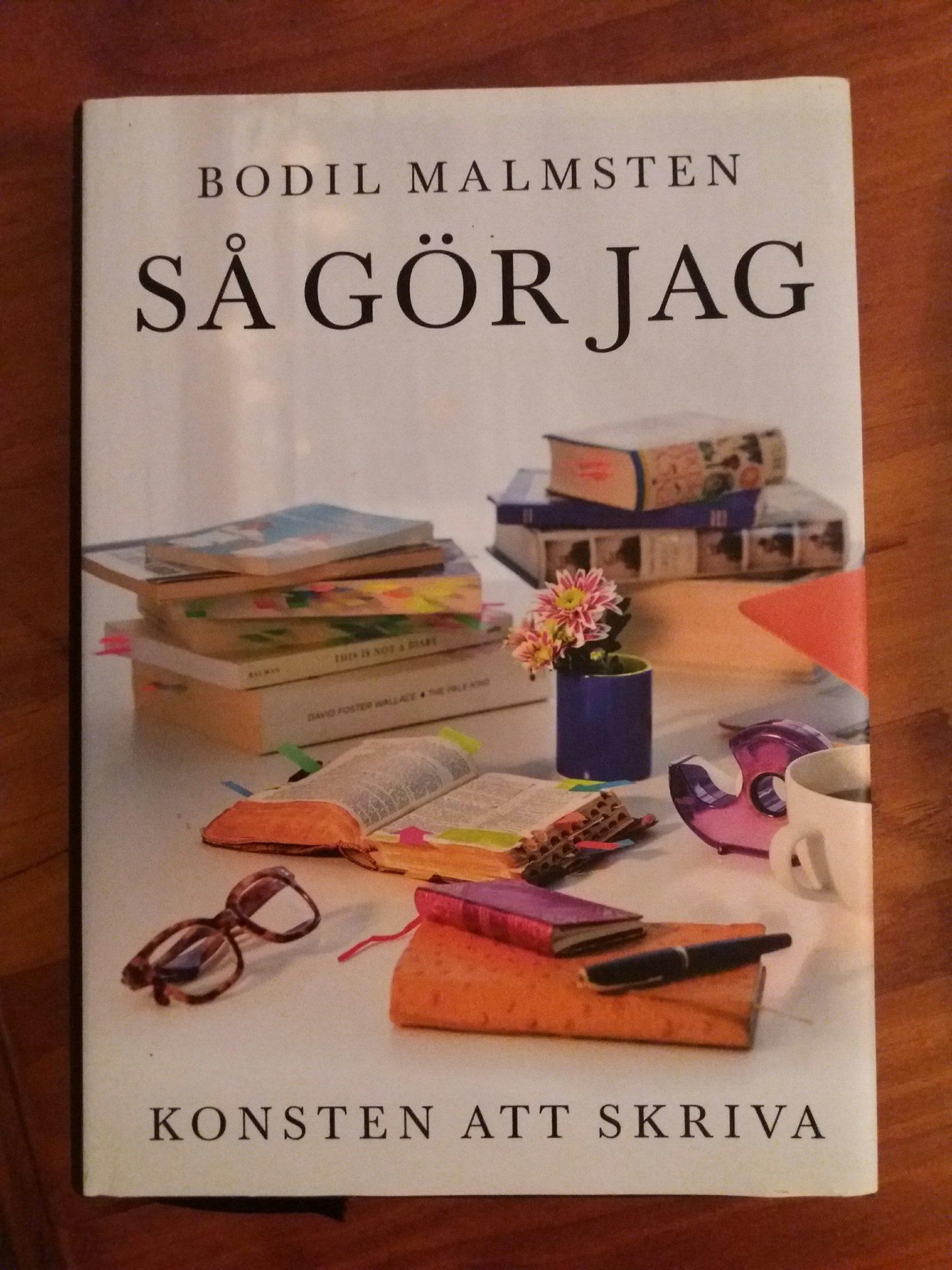 konsten att skriva Bodil Malmsten