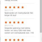 Loppet, omdömen, recensioner, Storytel