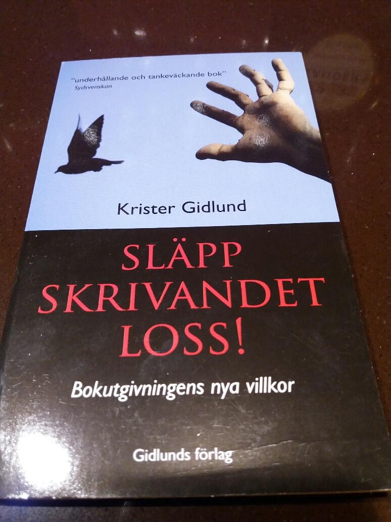 Krister Gidlund, Släpp skrivandet loss